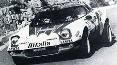 Bjorn Waldegaard (Lancia Stratos) vainqueur du rallye de San Remo 1976 - sport-auto novembre 1976.