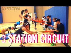Group Circuit Training - Advanced Exercises