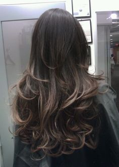 Guy Tang - West Hollywood, CA, United States. Smoked titanium brown Ombre by GuyTang