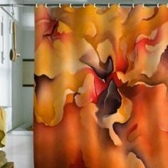 Looking For The Best Orange Shower Curtain At Lowest Possible Price While Not Skimping On