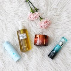 Lifestyle Blogger Roxanne of Glass of Glam's review of the DHC skincare japanese mesh net