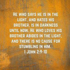 1 John 2:9-10
