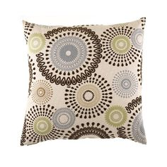 The Missoni decorative pillow has a modern style that would be an incredible addition to any living space. With feather insert fill, this pillow has a luxurious quality with incredible comfort.