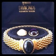 Elizabeth Taylor Jewelry - Vintage Elizabeth Taylor Interchangeable Bracelet 1