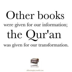 For our transformation <3 Allah knows I need it, we need it