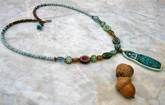 muneca necklace  . . . von marthasrubyacorn auf Etsy, $54.00