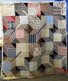 Check out Quilt Index. Org. Thousands of quilts, searchable by color pattern, etc. Free for all to use.