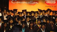 Students pose for a click on their Convocation Day