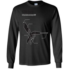 ADAM SYRINGE SCHEMATIC G240 Gildan LS Ultra Cotton T-Shirt