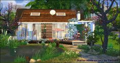 - Starter home for two Boho for The Sims 4