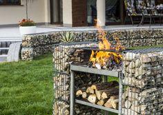 #grill #gabion #ogród #backyard