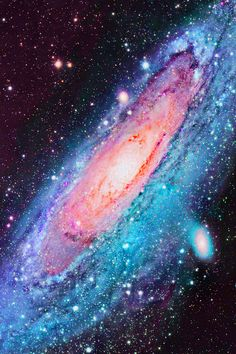 Andromeda Galaxy  To learn more about galaxies, check out Astronomy Is Awesome - http://astronomyisawesome.com/galaxies/whats-the-closest-galaxy-to-us/