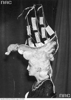 Modna fryzura z lat 20-30