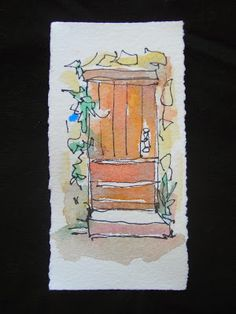 Sketchbook Wandering: Provence: Miniature Drawings from an old Travel Journal