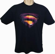 Camiseta Super Man Logo, tecido 100% algodão, fio 30.1, várias cores e tamanhos. <br>Peça já a sua. <br>Entrega rápida.