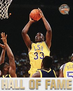 Shaquille O'Neal at LSU: -1990-91 AP Player of the Year -2-time First Team All-America  4/4/2016