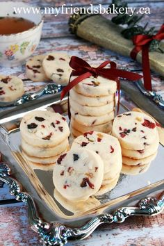 Fruit and Nut Shortbread Cookies / My Friend's Bakery