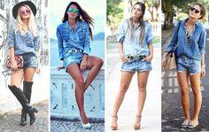 5 ideias para usar jeans com jeans - E aí, Beleza?