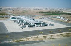 Larnaca Airport in Cyprus