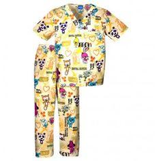 Childrens Hospital Critterz Ahoy Scrub Set - Infinity Scrubs of AR Kids Scrubs Kids Scrubs, Buy Scrubs, Scrub Sets, Childrens Hospital, Work Wear, Infinity, Pajama Pants, How To Wear, Cherokee