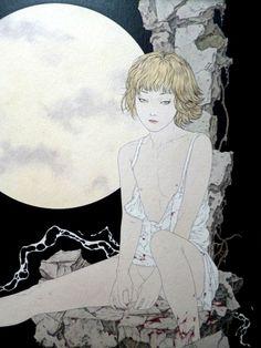 "snonohi: ""takato yamamoto A Drop of Moonlight """