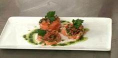 Pressé aux deux saumons et herbes fraîches
