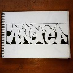 The name Andrea ( @robynandrea ) plz repost it! #art#artsy#artistic#graff#graffart#graffiti#graffitiart#graffitilettering#lettering#name#ANDREA#draw#sketch#sketching#drawing#sketchbook#blackbook#wallart#streetart#selfmade#handmade