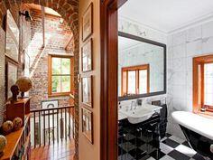 Visible brick walls