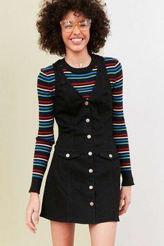 Cooperative Posie Chambray Button-Down Mini Dress