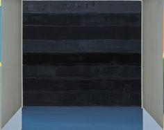 Enrico Bach - Garage, 2008, Öl auf Leinwand, 125 x 150 cm