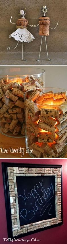 Amazing Wine Cork Crafts & Projects