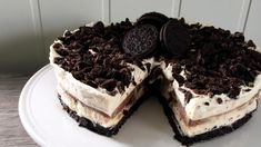 no - Finn noe godt å spise Pudding Desserts, Like Chocolate, 20 Min, No Bake Cake, Tiramisu, Oreo, Cake Recipes, Sweet Treats, Goodies