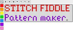 Stitch Fiddle is an online crochet, knitting and cross stitch pattern maker. Make own C2C also.