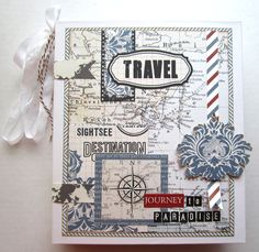 Journey To Paradise Mini Album - Scrapbook.com