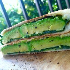 After→Chili fravor, hot sandwich(avocado & green leaf)