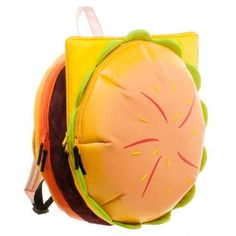 The famed Steven Universe Cheeseburger backpack is on its way! Twenty inches in diameter, the backpack features tomato, cheese, and buns that all unzip to reveal separate pockets. Preorder today for shipment on or about July 5th!