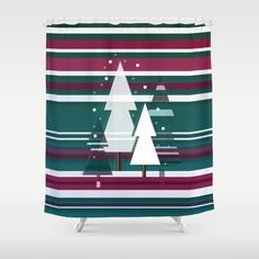 shower curtain - Made from 100% polyester our designer shower curtains are printed in the USA and feature a 12 button-hole top for simple hanging. The easy care material allows for machine wash and dry maintenance. Curtain rod, shower curtain liner and hooks not included. Dimensions are 71in. by 74in.