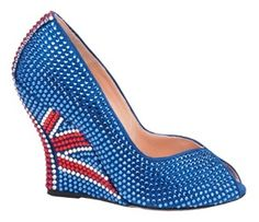 Olympic shoes, from Aruna Seth