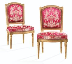 Louis xvi the back and note on pinterest - Chaise louis xvi pas cher ...