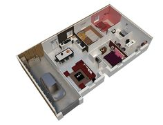 maison ossature bois plan natigao rdc natilia 3