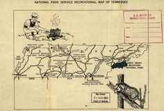 NPS Recreation Map // Tennessee