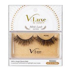 88f3a552f9d V-Luxe I Envy - VLEF01 Pearl - Mink Lash Inspired 100% Virgin Remy Hair By  Kiss