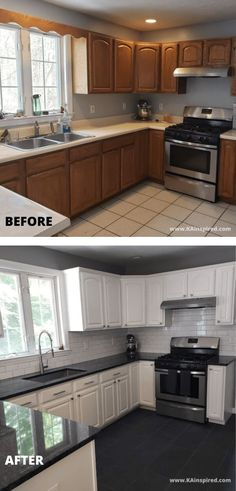 kitchen remodel on a budget ~ kitchen remodel ; kitchen remodel on a budget ; kitchen remodel before and after ; kitchen remodel with island ; Diy Kitchen Remodel, Kitchen Redo, Home Decor Kitchen, Home Kitchens, Island Kitchen, Kitchen Small, Small Kitchen Renovations, Small Kitchens, Kitchen Island Remodel Ideas