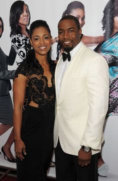 Black Celebrity Couples Hot Married Michael Jai White