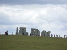 Stonehenge, a set of stone which nobody can understand or comprehend how they got there in Wiltshire UK. Used by druids to celebrate the Summer Solstice.
