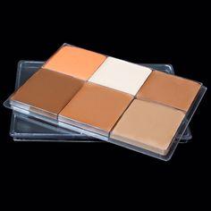 MAQ134 1070E Paleta make-upů MAT MAKE-UP Maqpro - 6 odstínů