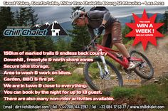 Mountain Biking at Chill Chalet French Alps, Bike Storage, North Shore, Snowboard, Mountain Biking, Chill, France, Adventure, Adventure Movies