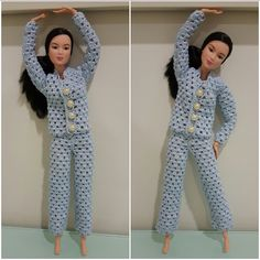 Barbie Pajama Set (Free Crochet Pattern)