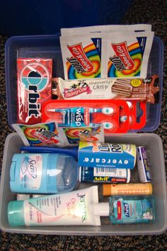 "Back to School - ""teacher survival kit"" = great gift idea!"