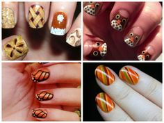 Love the Thanksgiving Nails in the upper left corner!